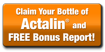 CLaim Your Bottle of Actalin