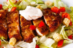salad, fattening, vegetables