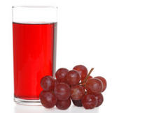 grape, juice, calories